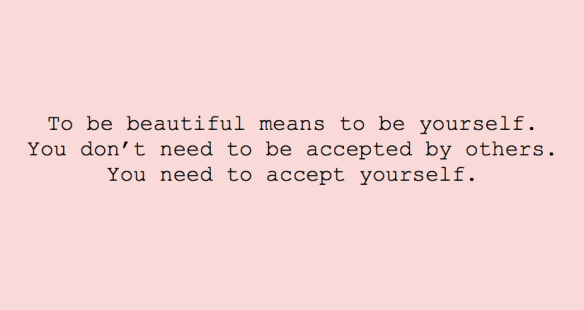 Be beautiful...