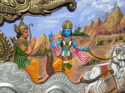 Krisha to Arjuna