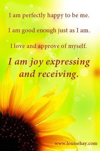I am joy...