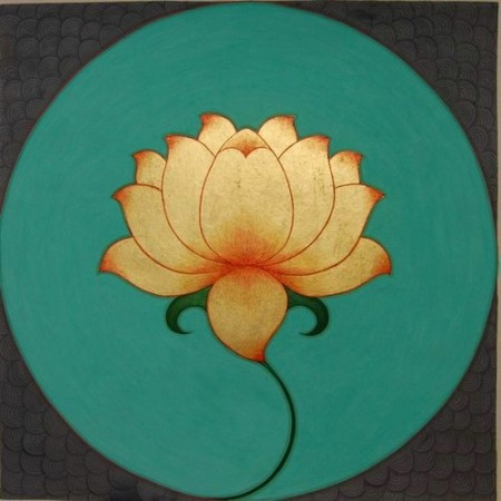 A lotus...