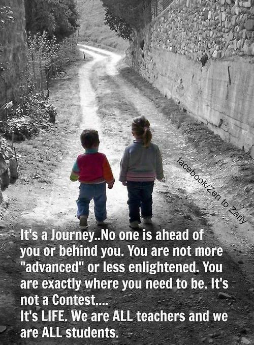 It'a a Journey...