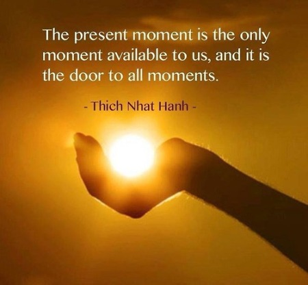 Present moment...