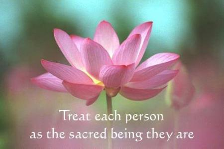 Sacred beings...