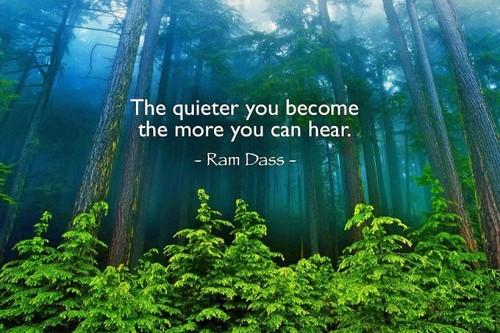 Quitely listen...
