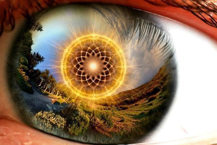 sacred geometry in eye