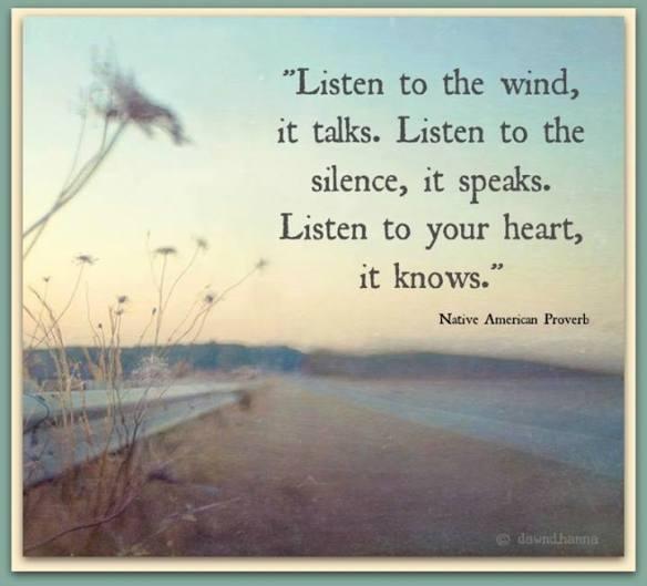 Listen to wind