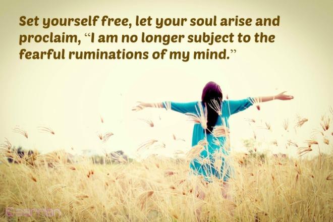 set yourself free...
