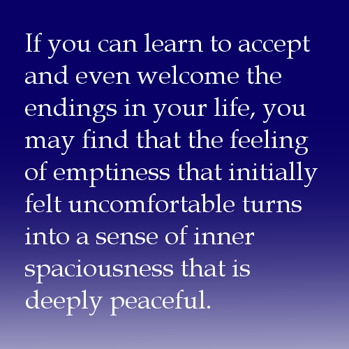 learn to accept...