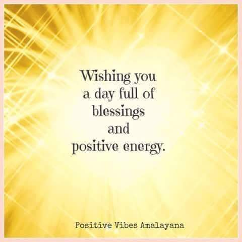 positive vibes...