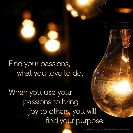 find your purpose...