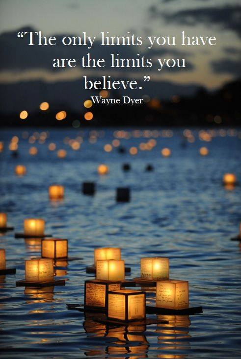 only limits...