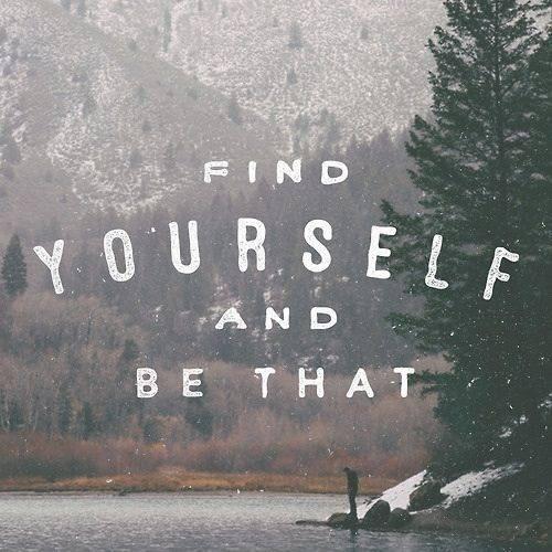 be Self...