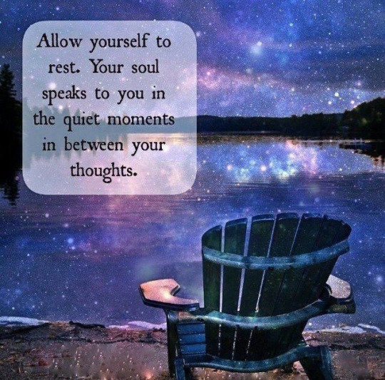 between your thoughts...