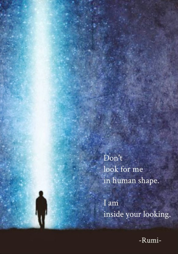 don't look for me...