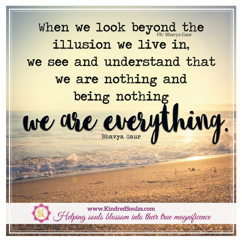 we are everything...